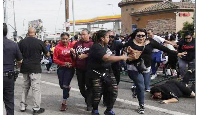 Nipsey Hussle funeral shooting