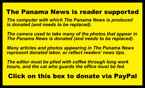 A point of international law, and a question | The Panama News
