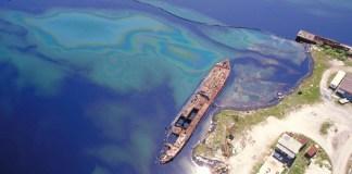 tanker at Las Minas