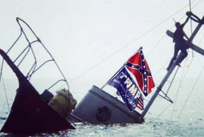 sinking in Lake Travis