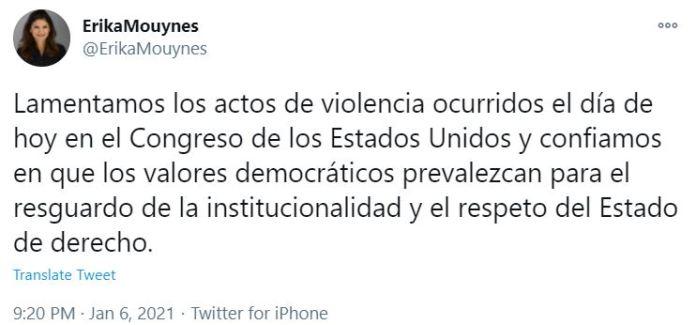 Minister tweet