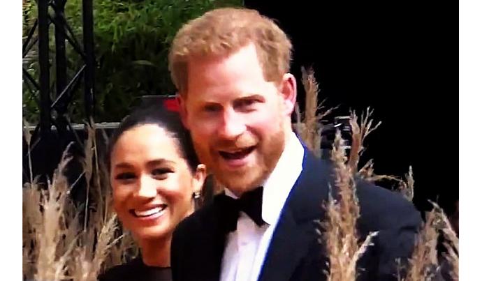 Harry Windsor Mountbatten and Meghan Markle