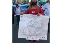 Seguro protest
