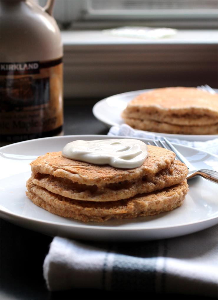 Whole Wheat Pancakes // The Pancake Princess