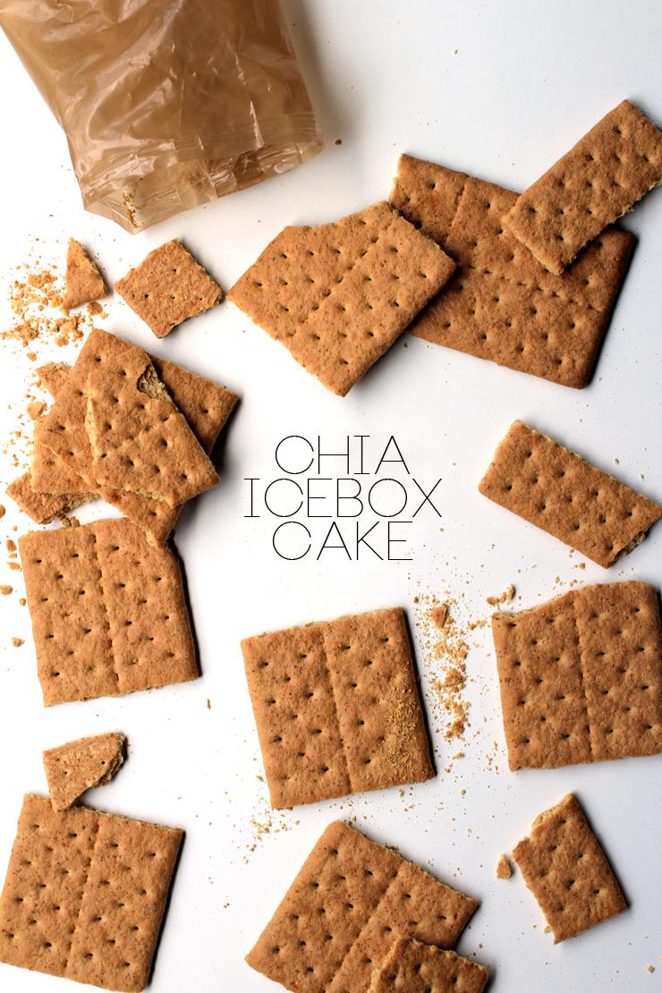 Chia Icebox Cake // The Pancake Princess
