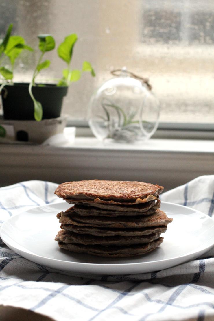 Soaked Buckwheat Pancakes // The Pancake Princess