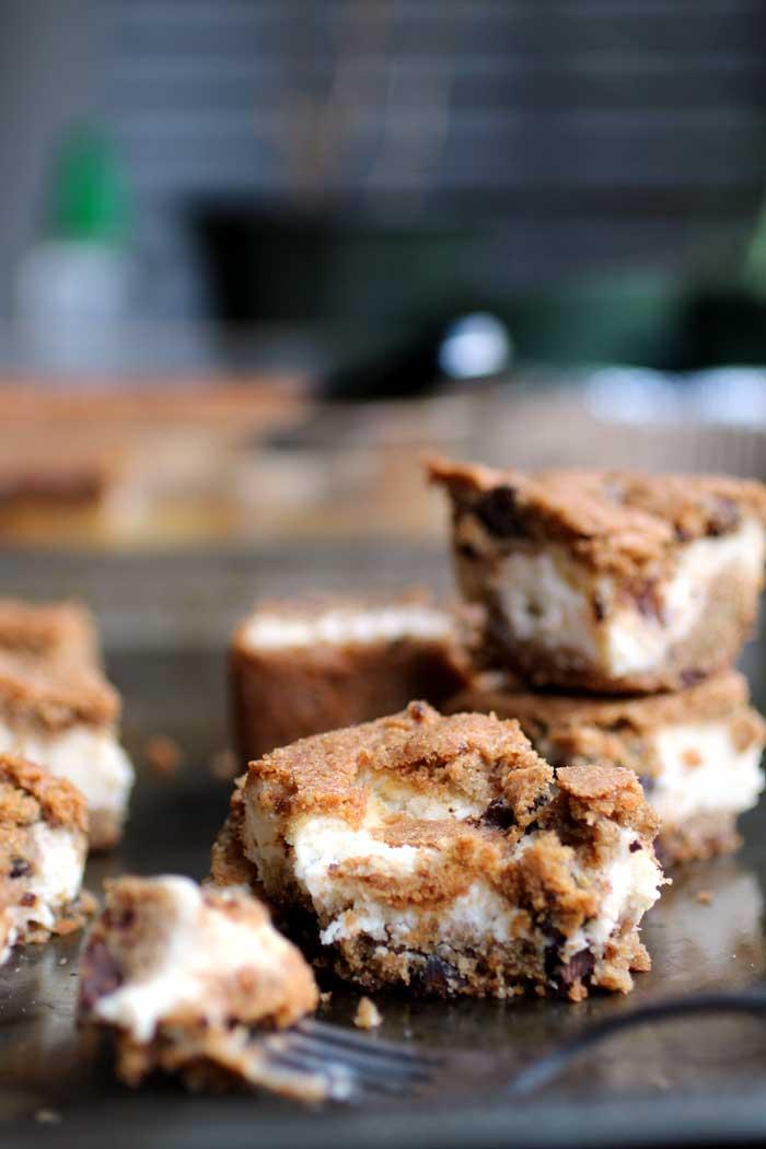 cheesecake cookie bar