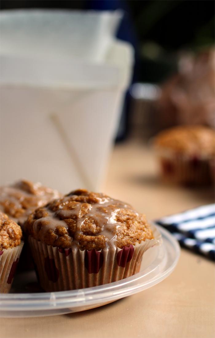 Pumpkin Spice Doughnut Muffins // The Pancake Princess