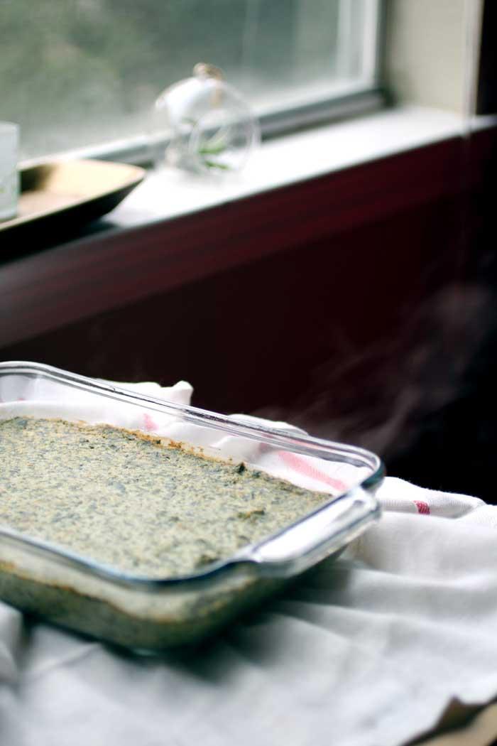 Vegan Spinach & Artichoke Dip // The Pancake Princess