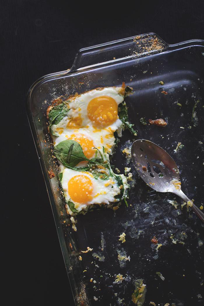 Easiest Baked Eggs + A Doughnut Bar Brunch // The Pancake Princess