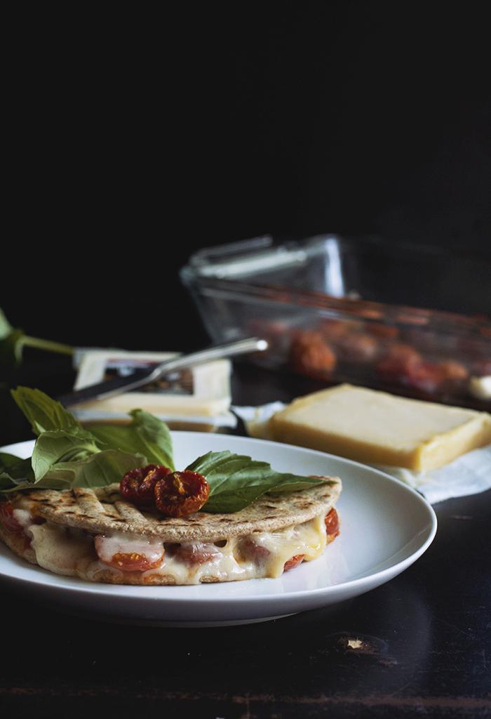 Piadina Grilled Cheese // The Pancake Princess