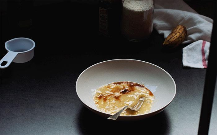 Gooey Chocolate Oat Cake // The Pancake Princess