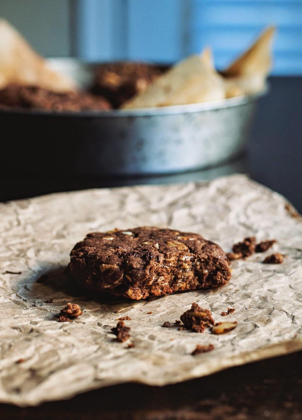 Kashi Almond Butter Cookies // The Pancake Princess