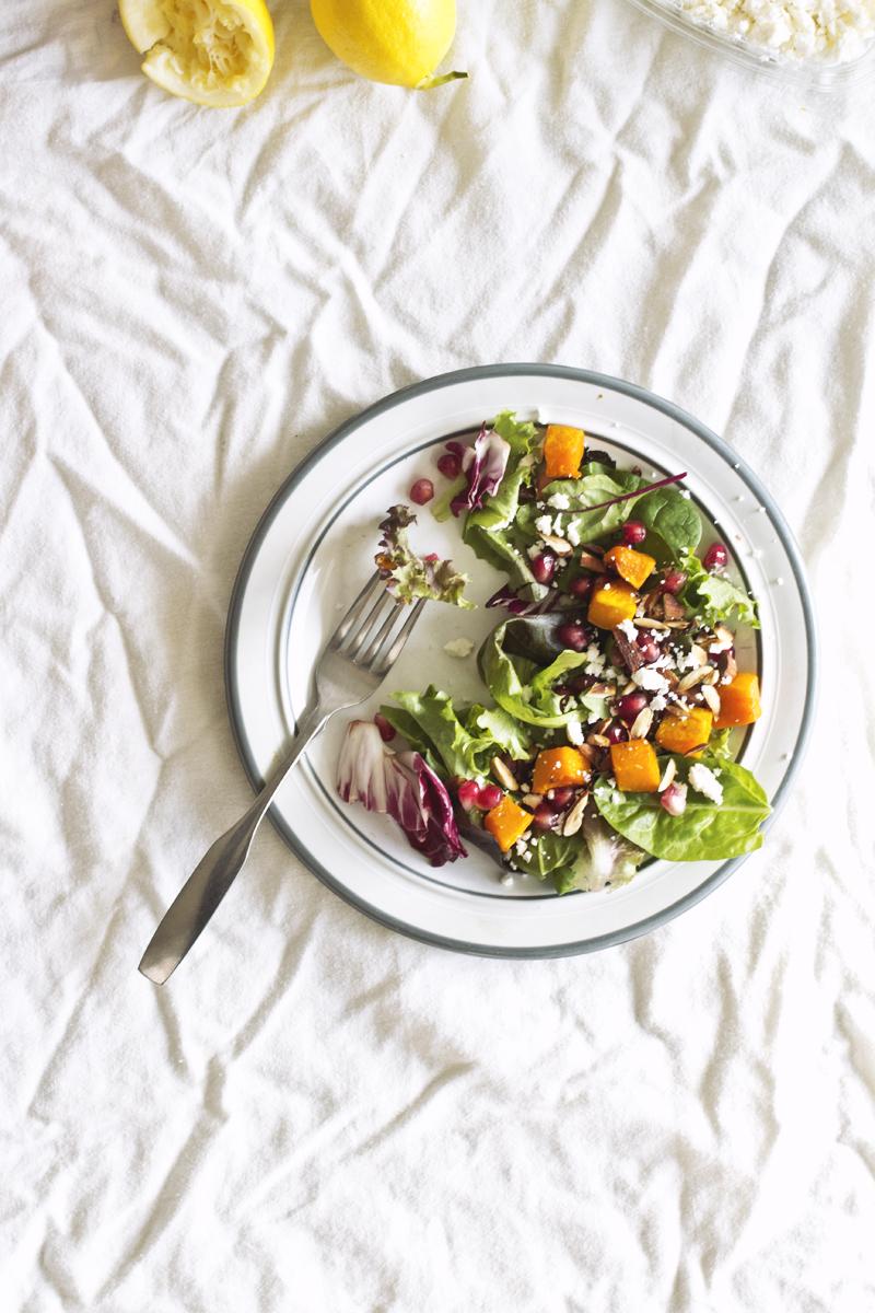 Winter Harvest Salad // The Pancake Princess