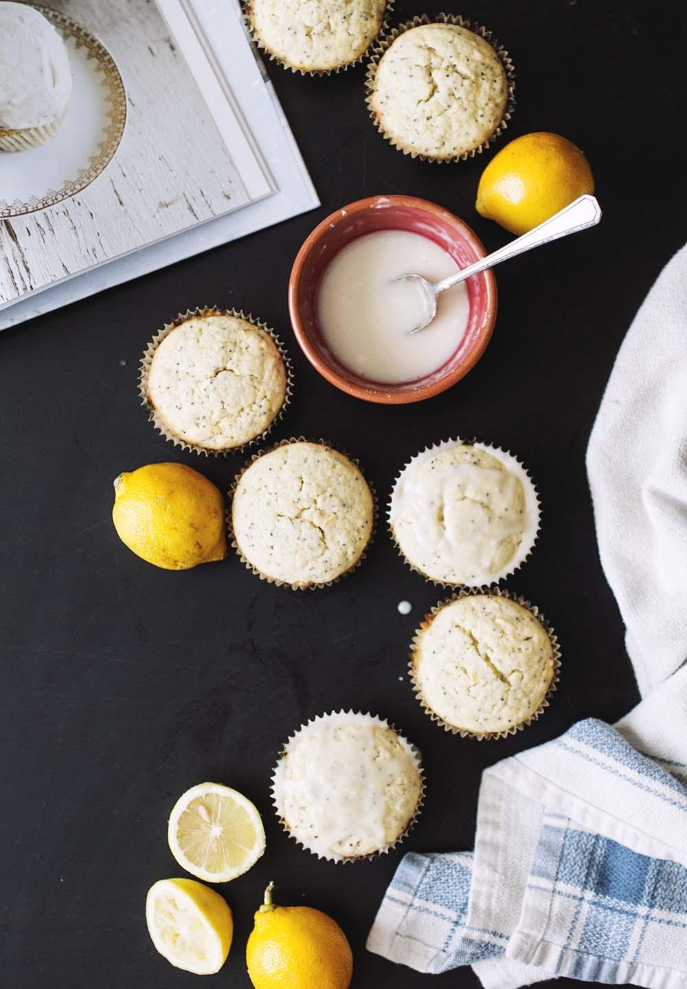 Lemon Poppy Seed Cupcakes // The Pancake Princess