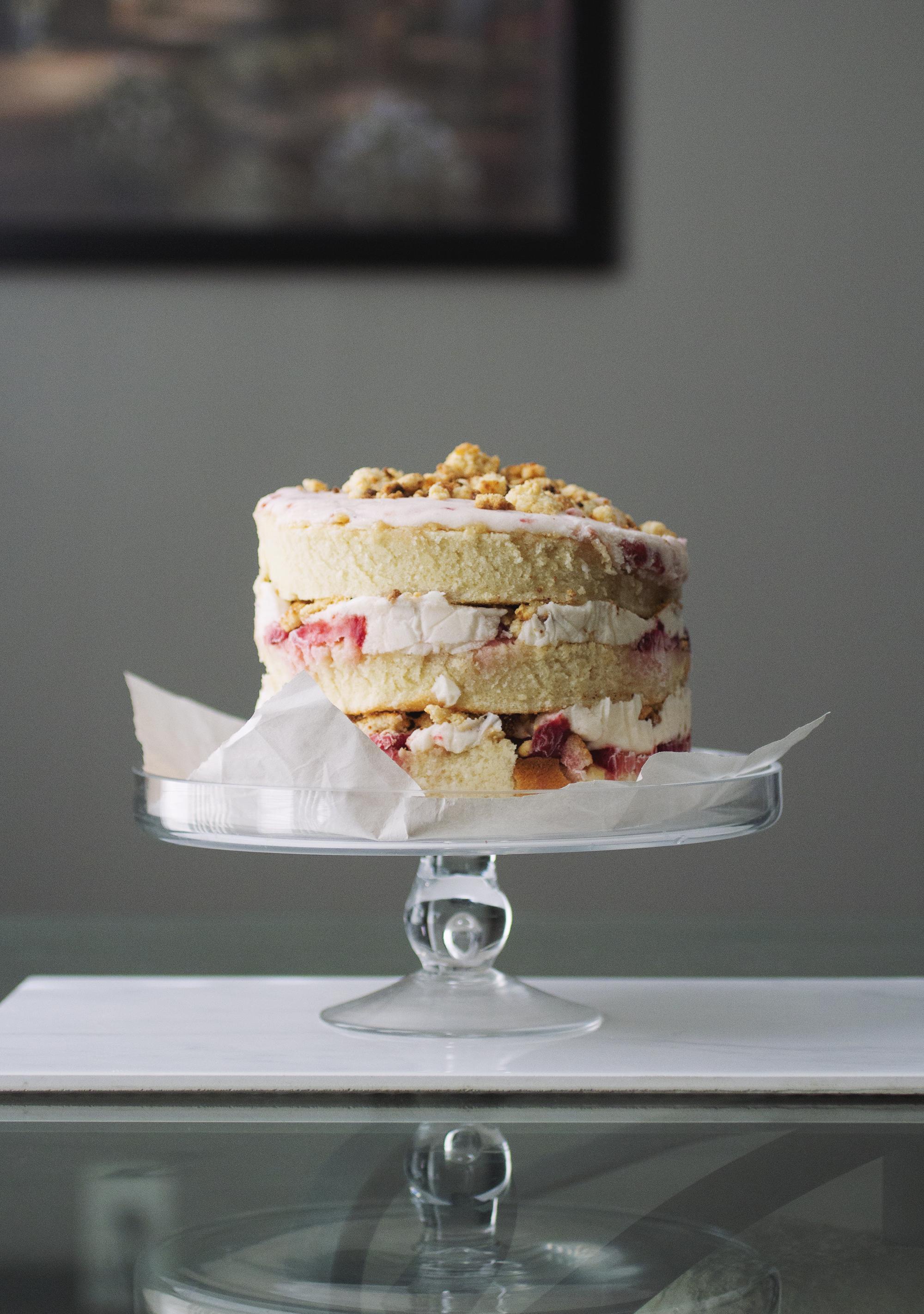 Strawberry Momofuku Cake // The Pancake Princess