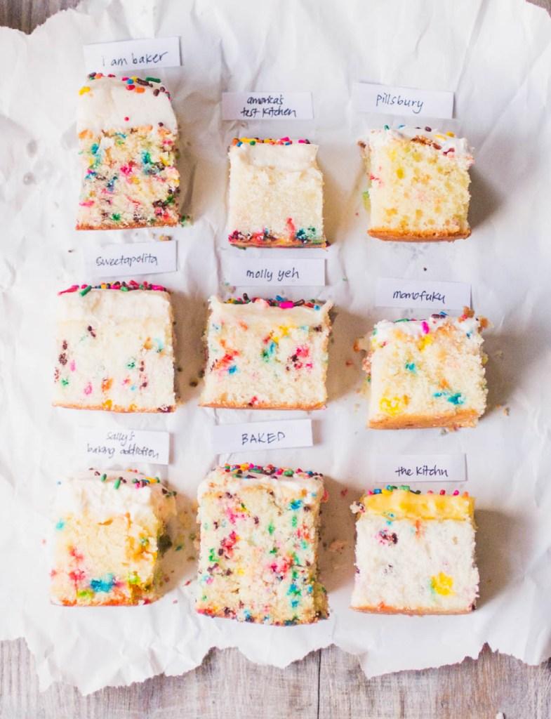 Best sprinkle cake bake off