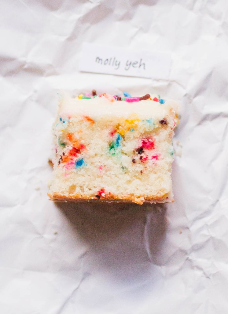 Molly Yeh sprinkle cake