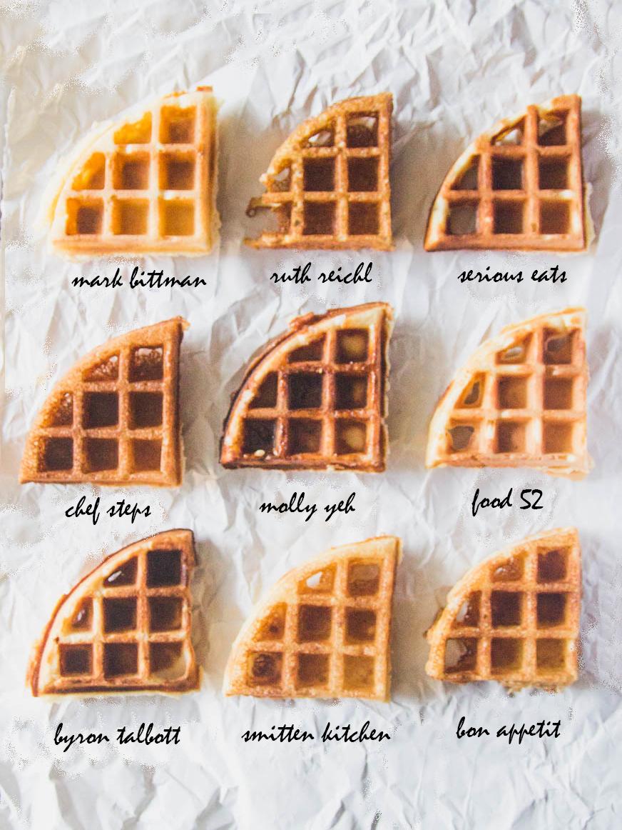 Best Yeast Waffle Bake Off - The Pancake Princess