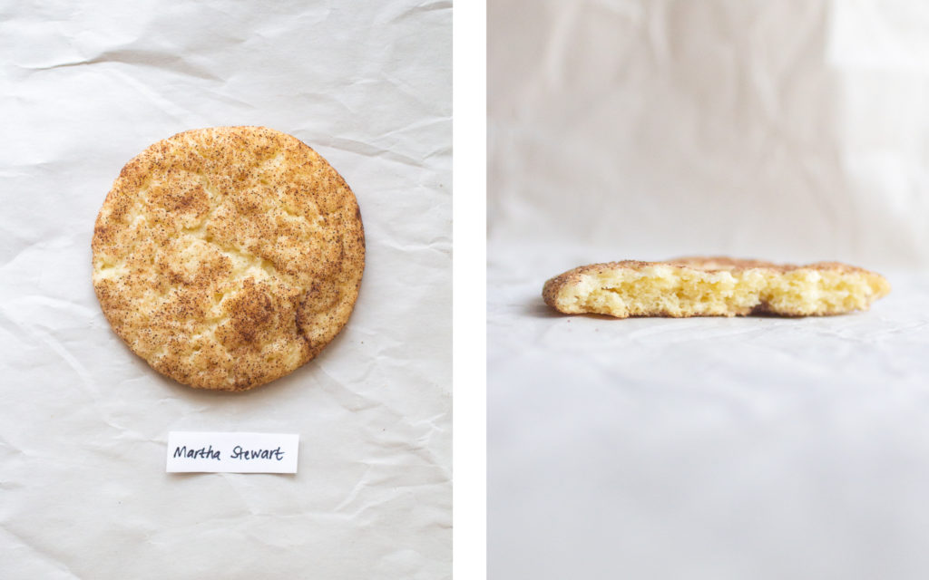 martha stewart snickerdoodle cookie
