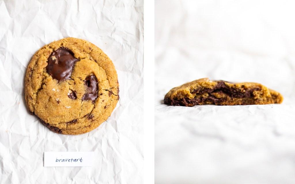 bravetart vegan chocolate chip cookie