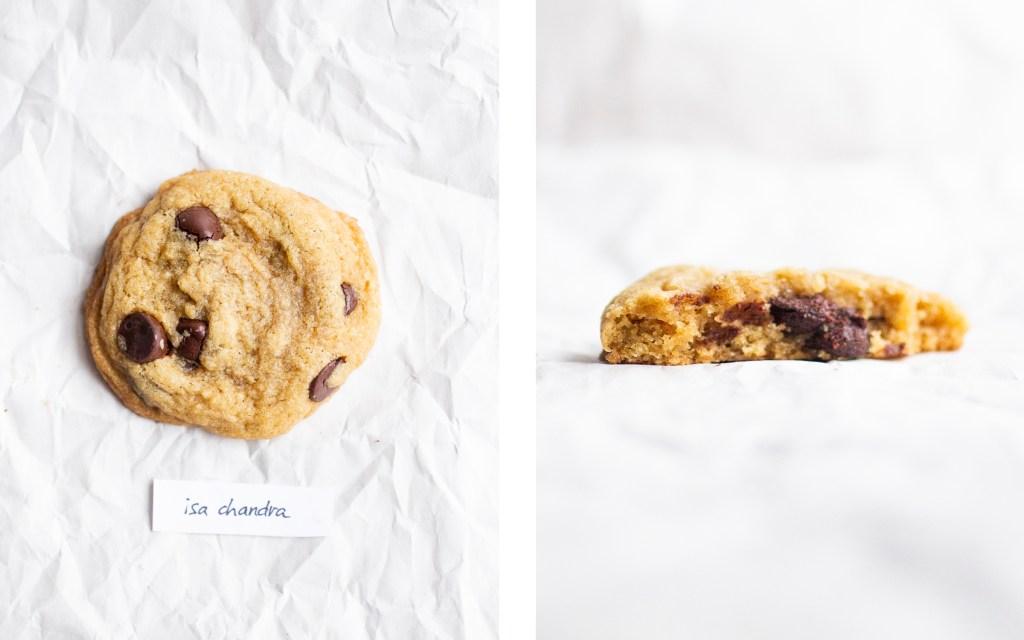 isa chandra vegan chocolate chip cookie
