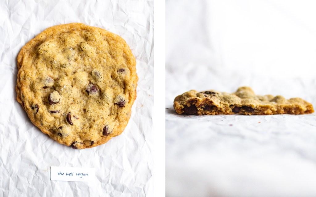 the well vegan vegan chocolate chip cookie