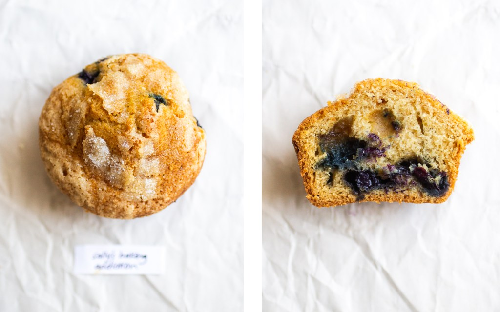 sally's baking addiction blueberry muffin