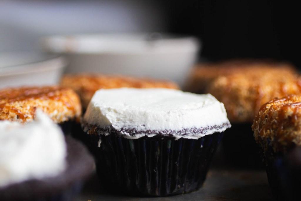 Chocolate Coconut Cupcakes // The Pancake Princess
