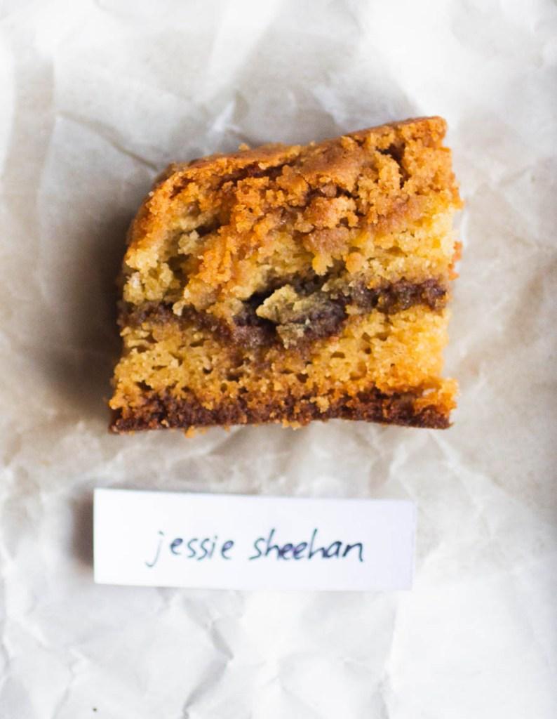 Jessie Sheehan Coffee Cake // The Pancake Princess