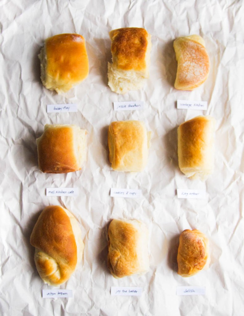 Best Parker House Roll Bake Off // The Pancake Princess