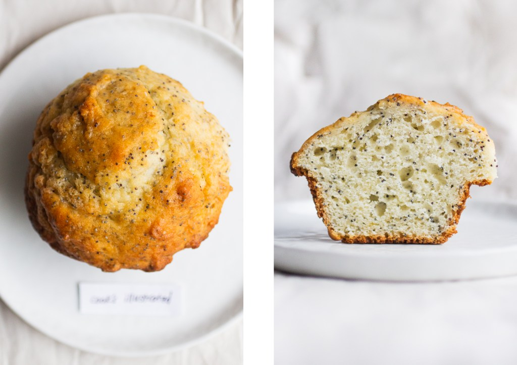 lemon poppy seed muffin cook's illustrated