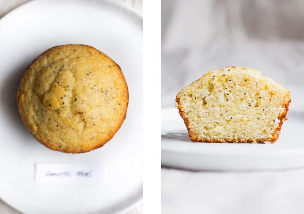 domestic rebel lemon poppy seed muffin