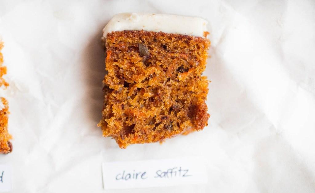 claire saffitz carrot cake
