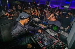 DJ Refresh at Onyx Room Nightclub in San Diego.