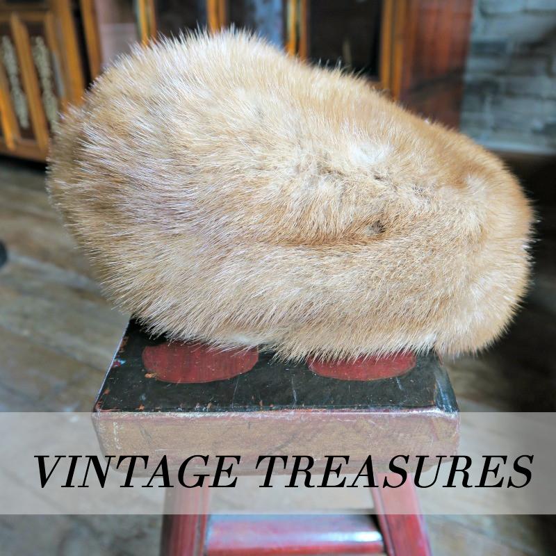 My vintage fur hat