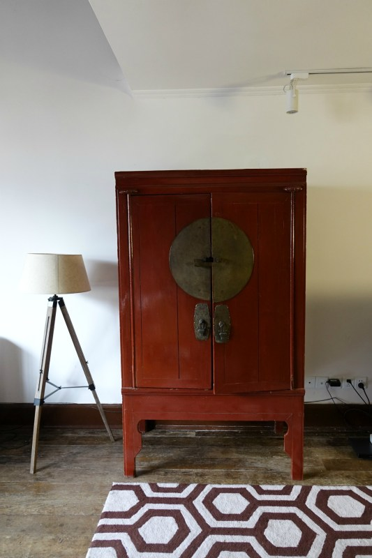 An antique Chinese cabinet in my old Shanghai style lane house apartment
