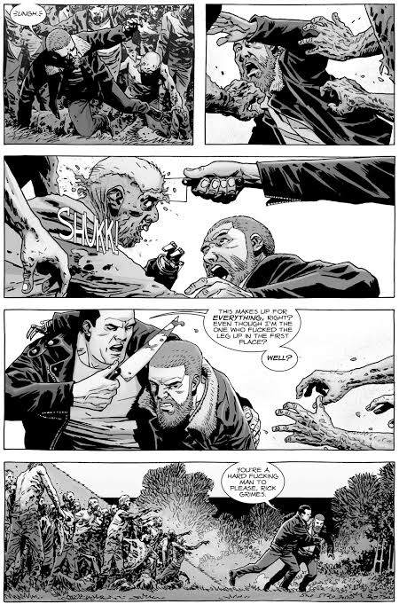 Negan's Redemption and Closeness to the group Walking Dead