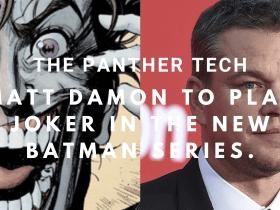 Matt Damon to play Joker