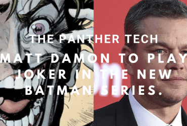 Matt Damon to play Joker