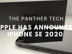 Apple has announced iPhone SE 2020