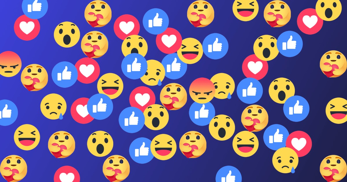 How to use Facebook Care Emoji