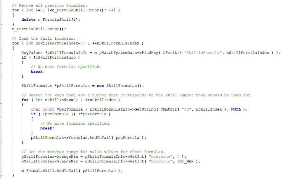 CSGO Source code Leaked Ranking up and Elo Formula Leaked