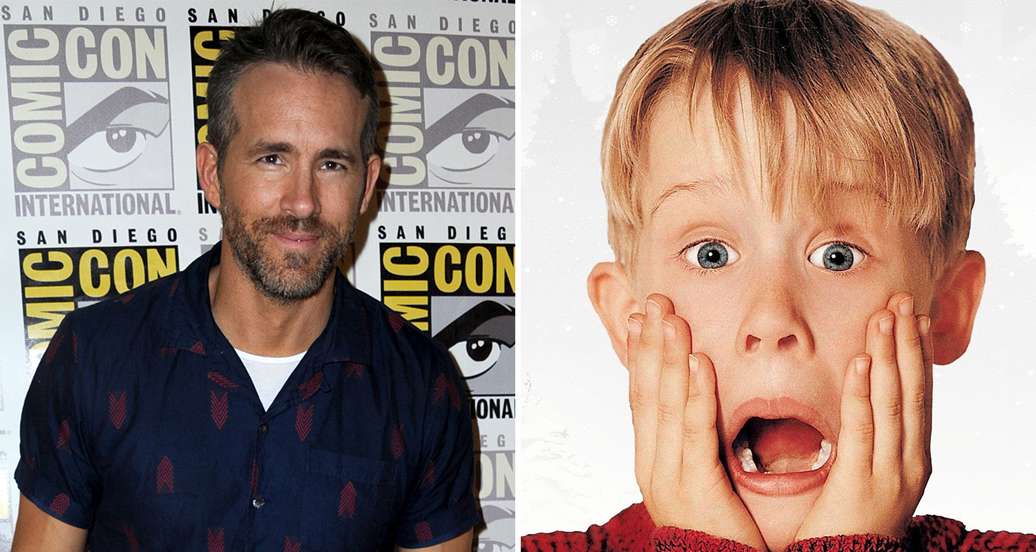 """Ryan Reynolds in """"Home Alone"""" sequel """"Stoned Alone"""""""