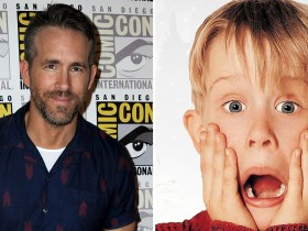 "Ryan Reynolds in ""Home Alone"" sequel ""Stoned Alone"""