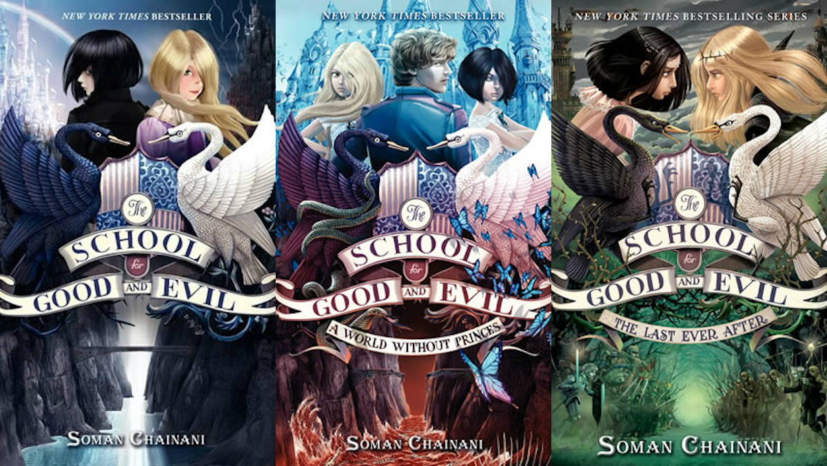 School-for-good-and-evil-covers