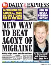 UK Newspaper Front Pages for Wednesday, 22 January 2014 ...