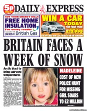 UK Newspaper Front Pages for Thursday, 2 February 2012 ...