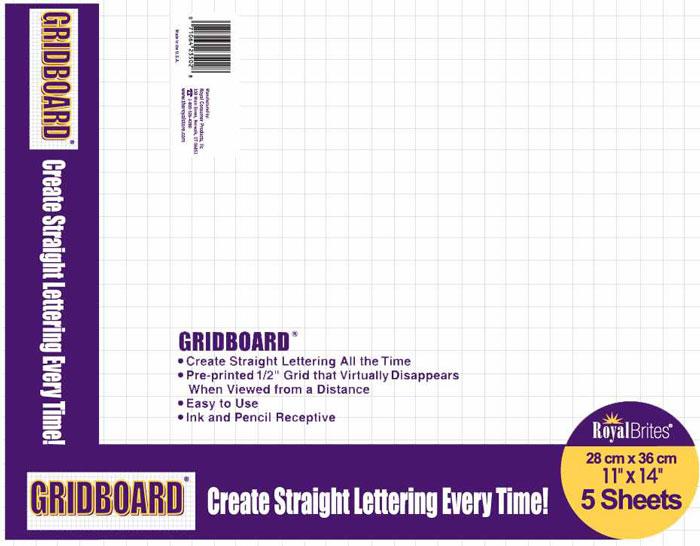 grid board poster board 72700 royal brites