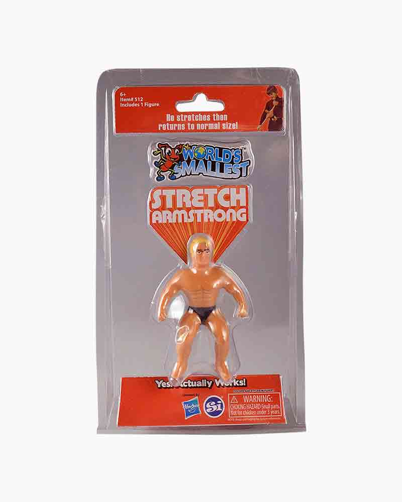 Worlds Smallest Worlds Smallest Stretch Armstrong Figure
